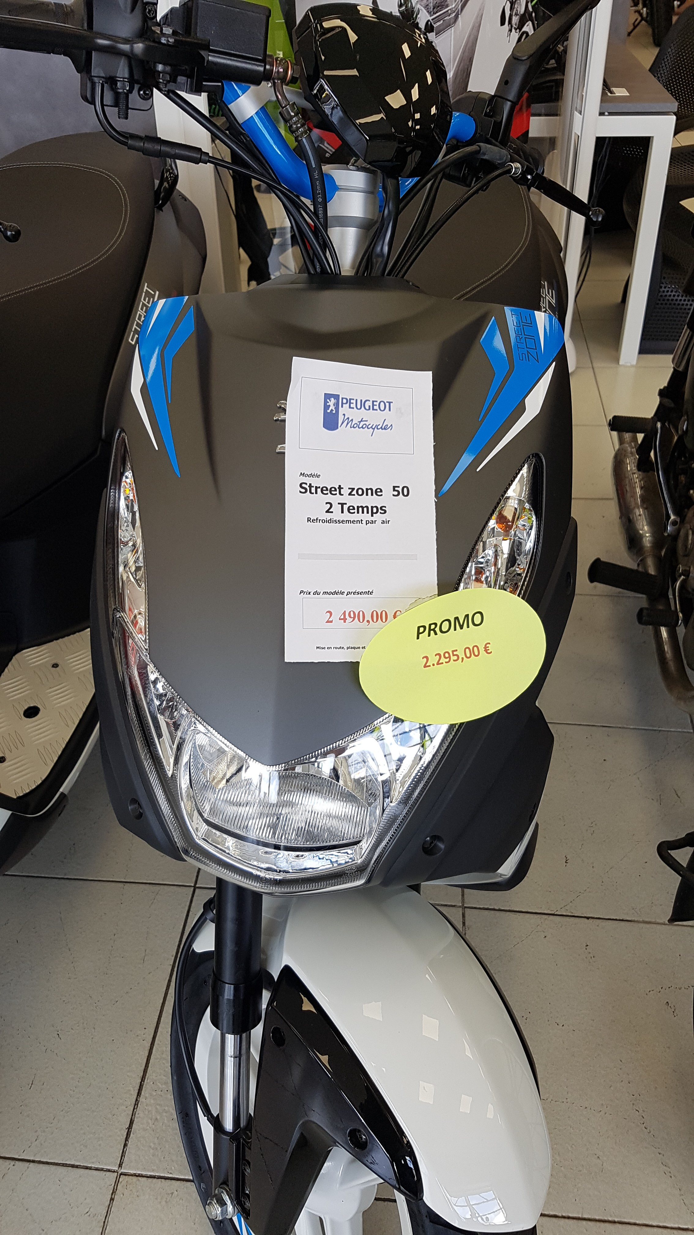 scooter kawasaki 50cc prix